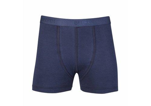 Beeren Jongens Boxershort Comfort Feeling Donkerblauw