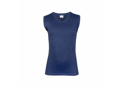 Beeren Jongens Mouwloos Shirt Comfort Feeling Donkerblauw
