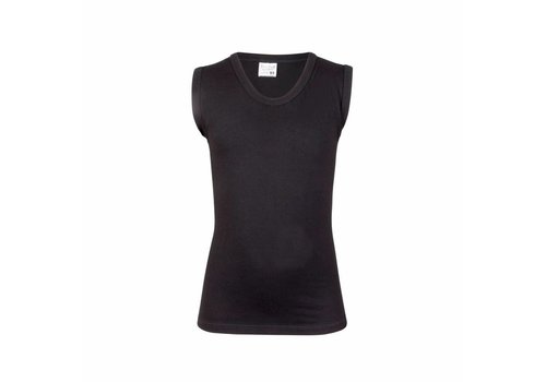 Beeren Jongens Mouwloos Shirt Comfort Feeling Zwart