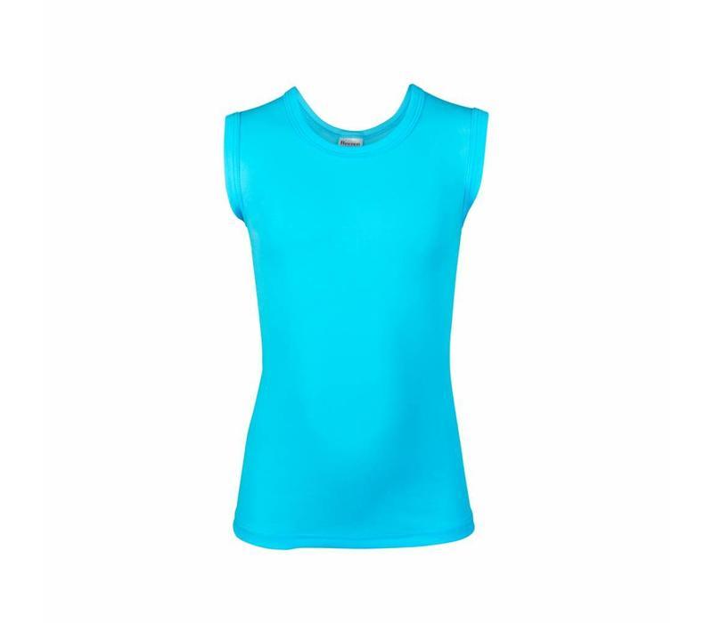 jongens mouwloos shirt comfort feeling aqua