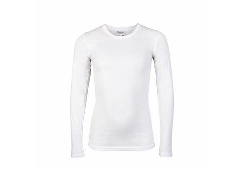jongens shirt lange mouw M3000 wit