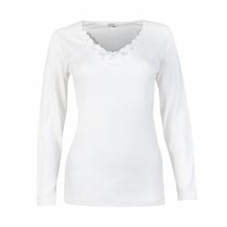 shirt lange mouw beatrix wit