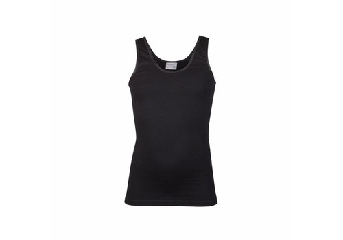 meisjes hemd comfort feeling zwart