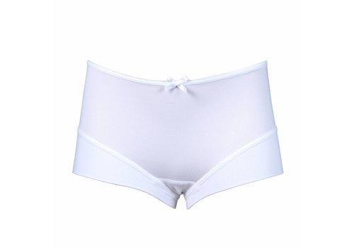 meisjes short elegance wit