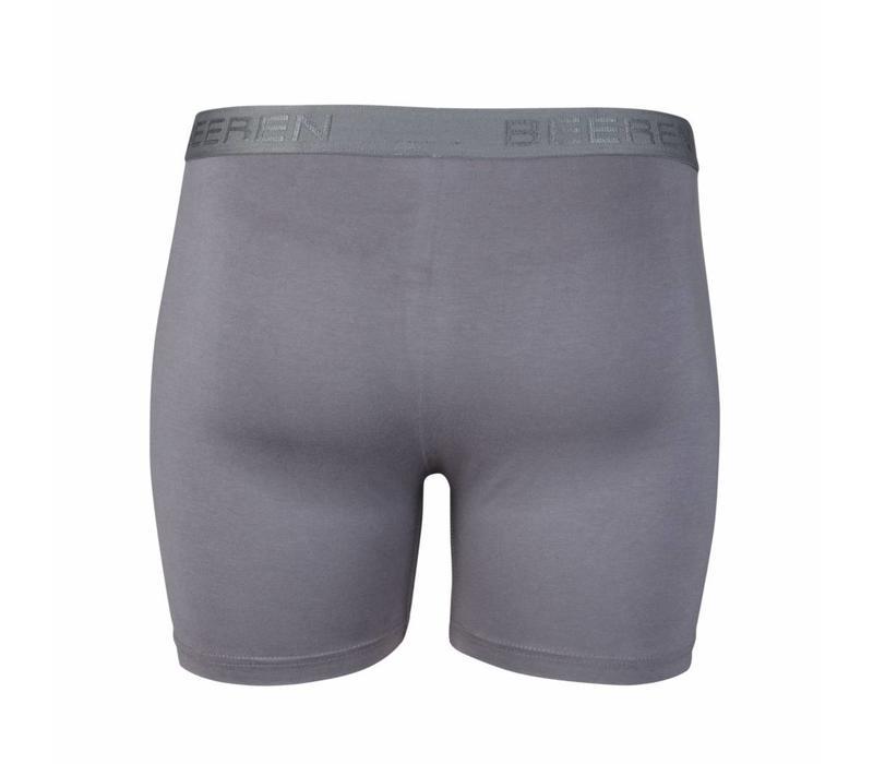 heren boxershort met gulp grijs