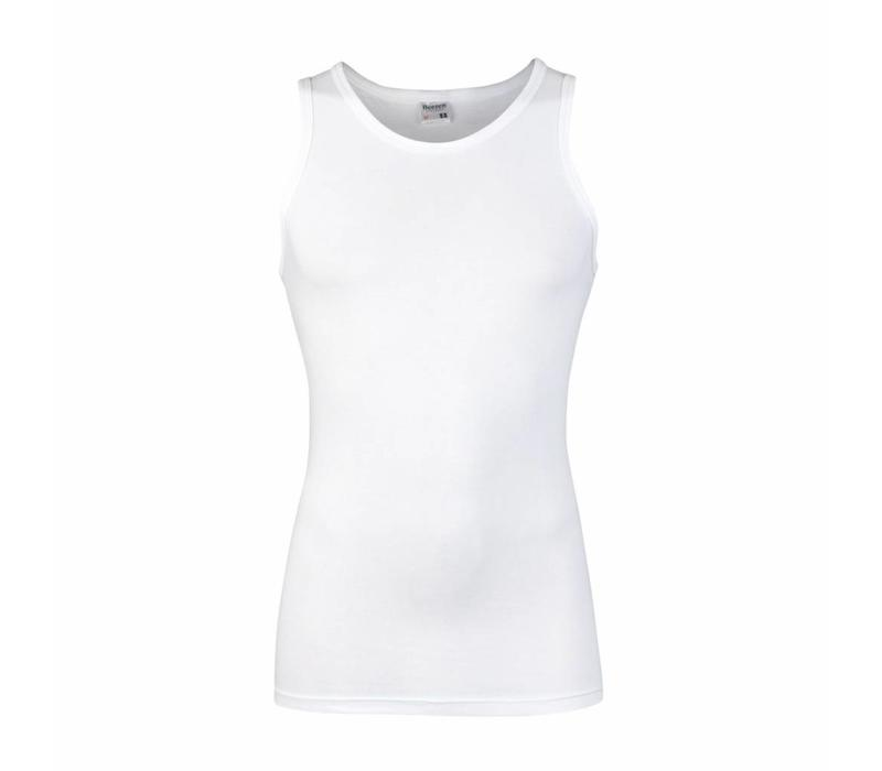 heren singlet comfort feeling wit