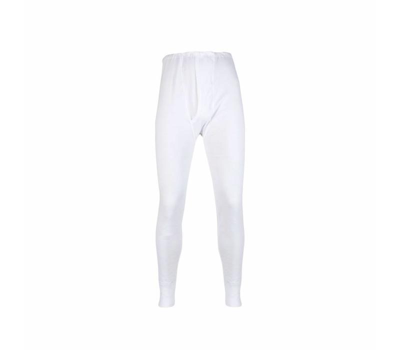 heren lange pantalon wit