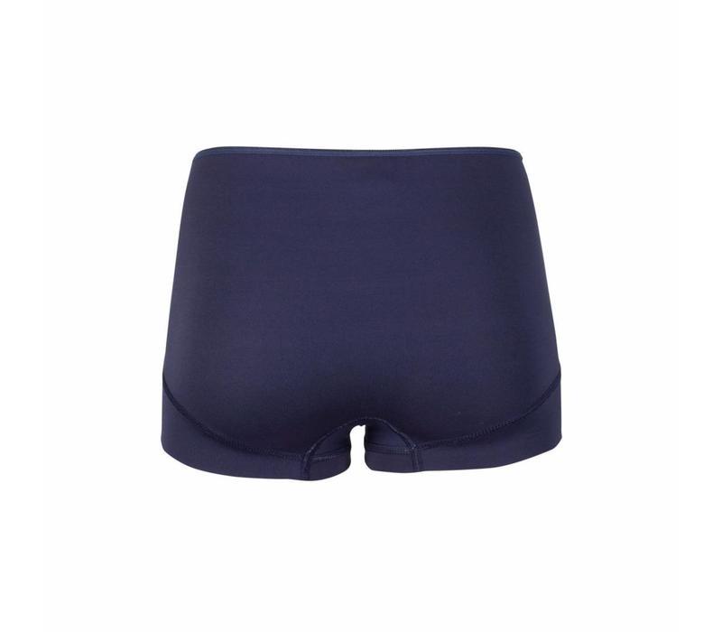 dames short elegance donkerblauw