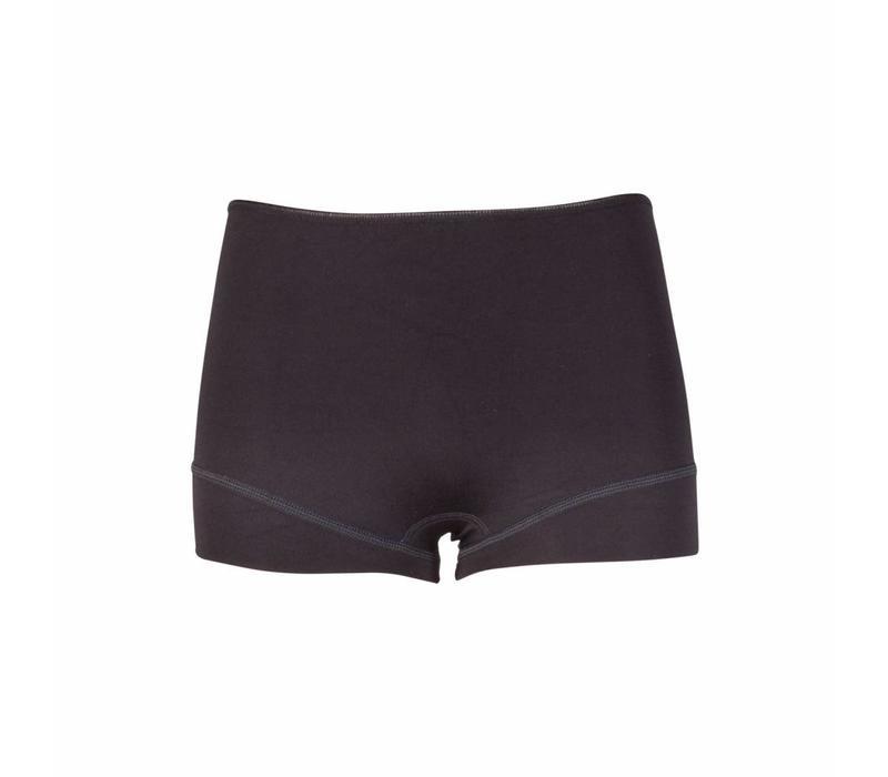dames short elegance zwart