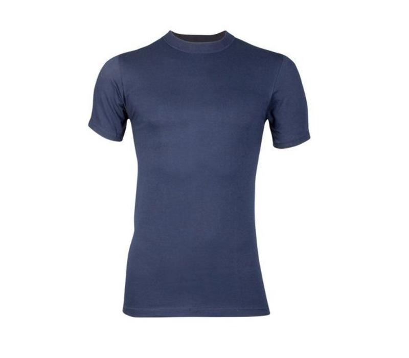 heren comfort feeling T-shirt marine