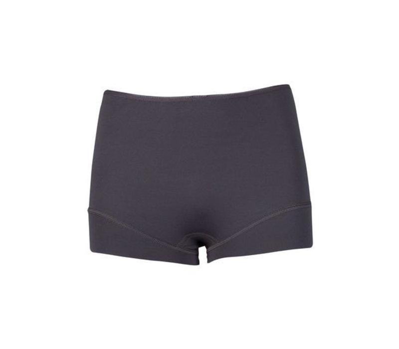 dames short elegance grijs
