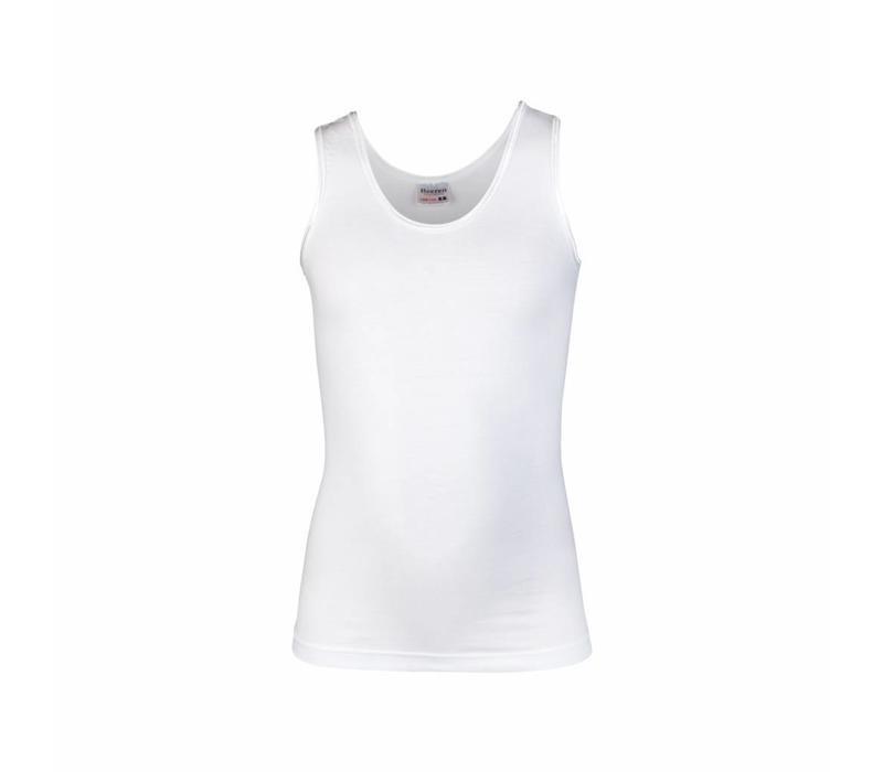 meisjes hemd comfort feeling wit