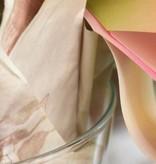 ORCHIDEA con vaso vetro