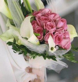 Bouquet CALLE e ROSE FUXIA