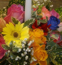 Centro tavola fiori freschi