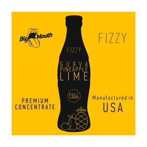 Big Mouth Fizzy 30ml - Guava, Pineapple & Lime