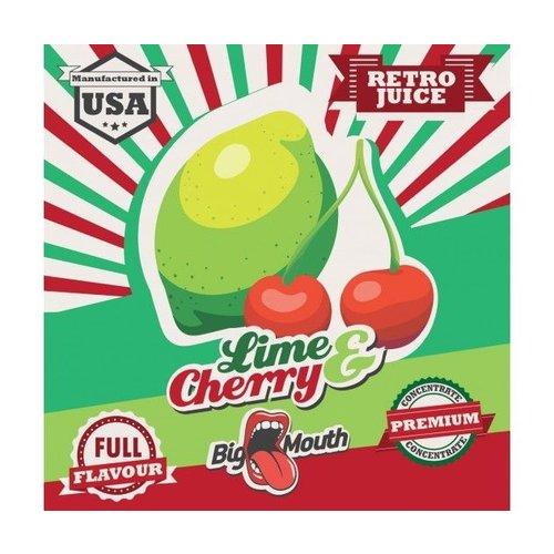 Big Mouth Retro Juice 30ml - Lime & Cherry