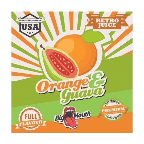 Big Mouth Retro Juice 30ml - Orange & Guava