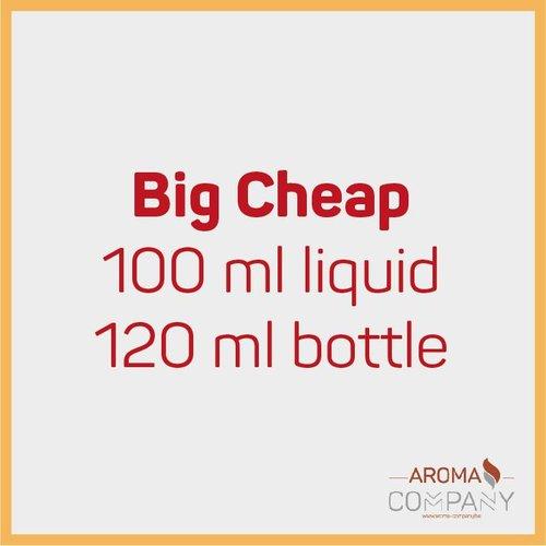 Big Cheap Bottle 100ml -  Raspberry