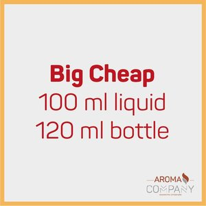 Big Cheap Bottle 100ml -  Strawberry