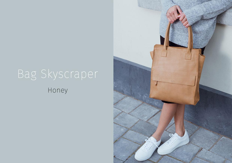 Bag Skyscraper - Honey