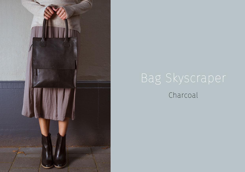 Bag Skyscraper - Charcoal