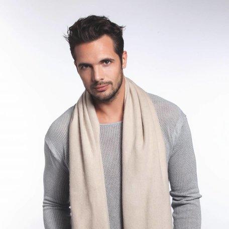Cashmere heren sjaal