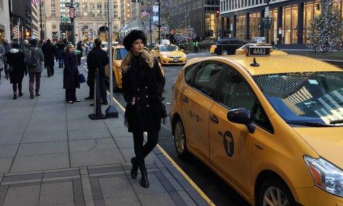 Inez goes New York!