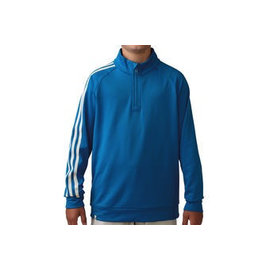 Adidas Adidas Junior 3 Stripe 1/4 Zip Golf Jacket