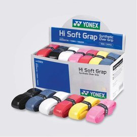 Yonex Yonex Hi Soft Grip box of 24 assorted