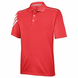Adidas Adidas Junior 3-Stripe Golf Polo