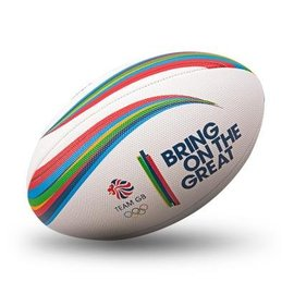 Gilbert Gilbert Team GB Beach Rugby Ball, Size 4