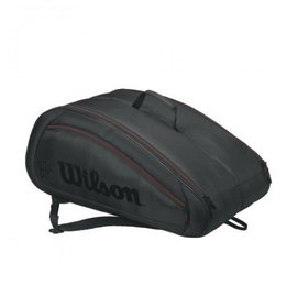 Wilson Wilson Federer Team 12 Pack Black Racket Bag