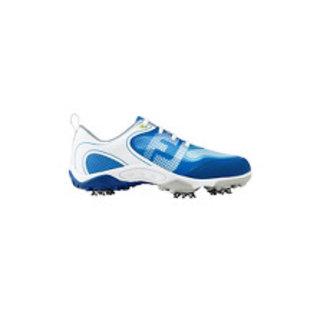 Footjoy Footjoy Junior Golf Shoes, White/Blue