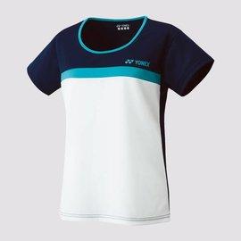 Yonex Yonex 16282EX Womens T-Shirt, White/Black/Blue