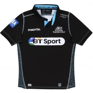0a315dd1e Gannon Sports - Macron Glasgow Warriors Snr Top - Gannon Sports