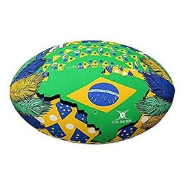 Gilbert Gilbert Randoms Supporter Rugby Ball, Brazil Carnival