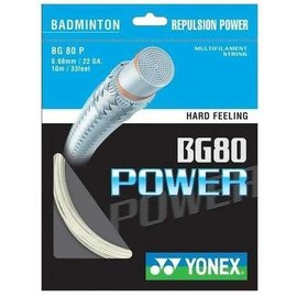 Yonex Yonex Bg 80 Power Badminton String 10m Set