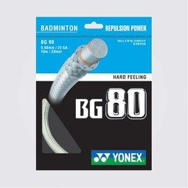 Yonex Yonex BG 80 Badminton String 10m Set
