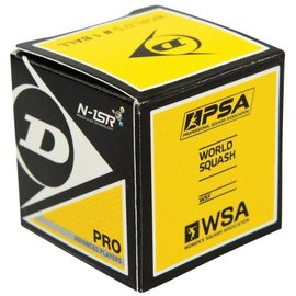Dunlop Dunlop Pro Squash Ball (Double Yellow)