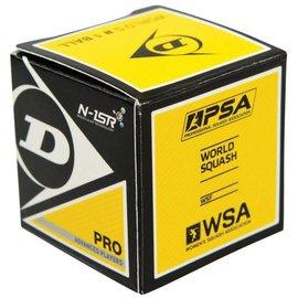 Dunlop Dunlop Pro Squash Ball (double yellow)