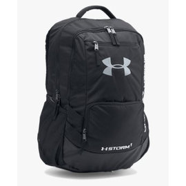 Under Armour Hustle Backpack Black/Grey
