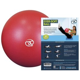 "Fitness Mad Fitness Mad Exer-Soft Ball, Red (9"")"