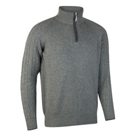Glenmuir Glenmuir Mens Apollo ZN Cable Ragland Golf Sweater
