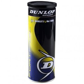 Dunlop Dunlop Fort Padel Ball, 3 Ball Tin