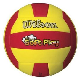 Wilson Wilson Super Soft Play Volleyball Red/Yellow