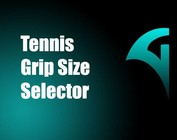 Tennis Grip Size Selector
