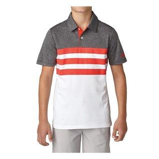 Adidas Adidas Junior 3-Stripe Fashion Polo Shirt (2018)