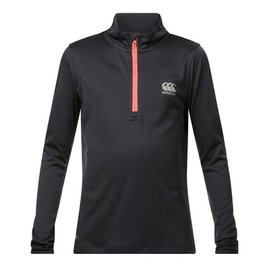 Canterbury Canterbury Junior Vapodri 1/4 Zip Jacket (2018), Total Eclipse Marl