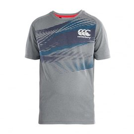 Canterbury Canterbury Junior Vapodri Graphic Poly Tee, Static Marl (2018)
